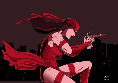 Elektra - Red - Color