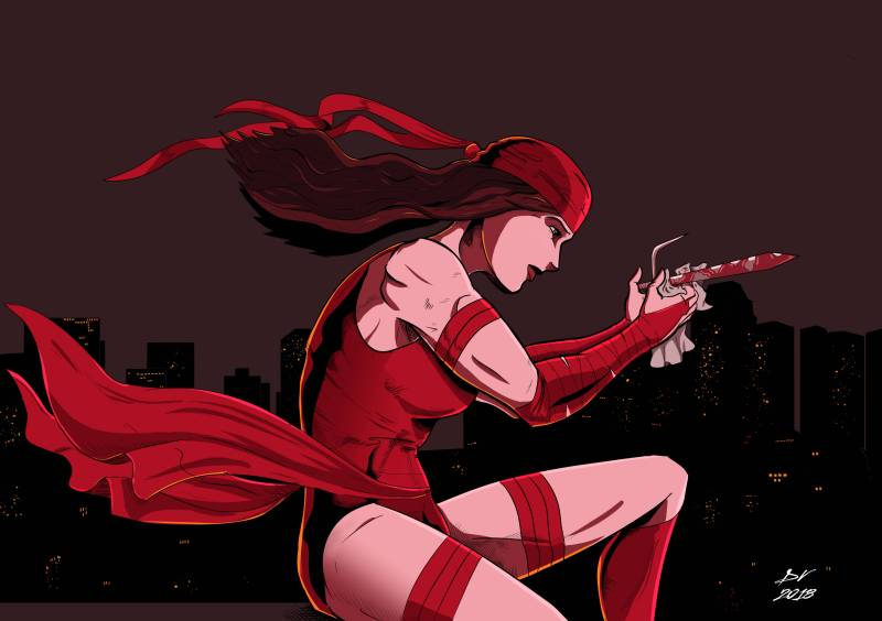 Elektra - Red - Color