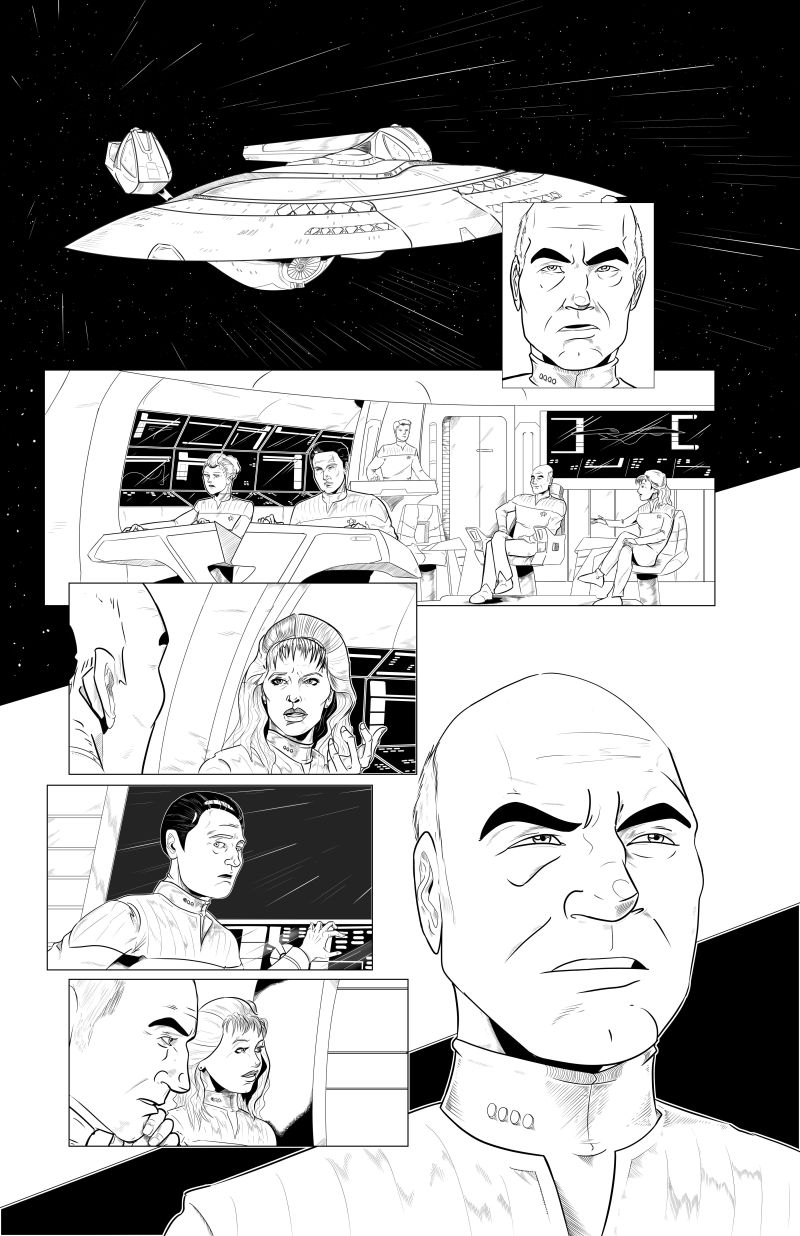 Star Trek - Invasion of the Empire - Page 2 - LineArt
