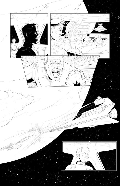 Star Trek - Invasion of the Empire - Page 5 - LineArt