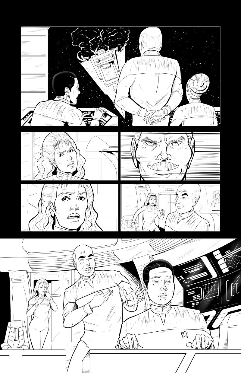 star trek vs star wars fan comic - page 8
