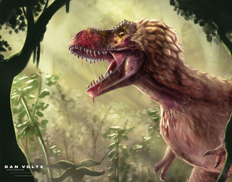 tyrannosaur-rex-fresh-kill_dan-voltz-art-social_media